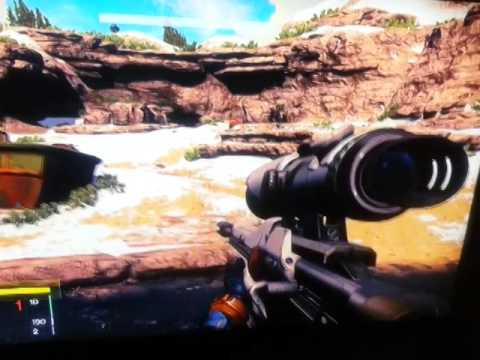 Destiny Xbox 360 Demo