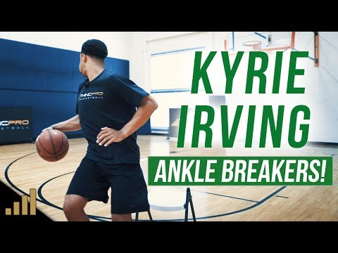 How to: Kyrie Irving ANKLE BREAKING Basketball Spin Move Tutorial!