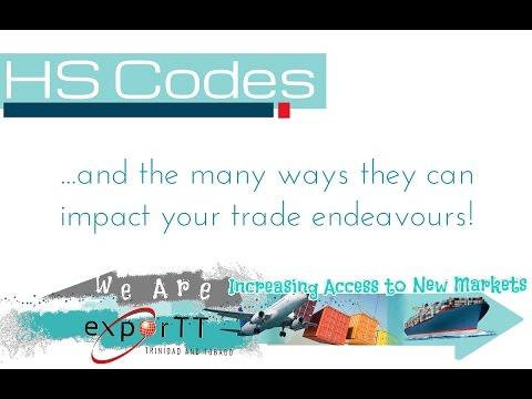 Understanding HS Codes in International Trade Webinar 2017