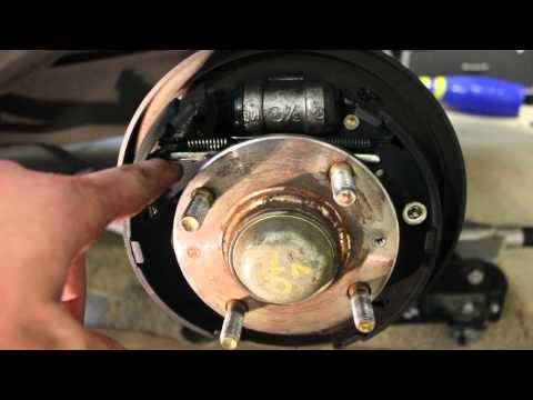 How to Replace Drum Brakes Hyundai 2 of 2