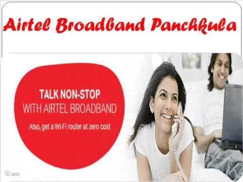 Airtel Broadband Connection Chandigarh