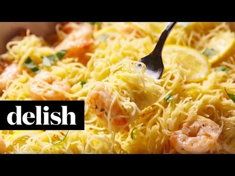 How To Make Garlicky Lemon Shrimp | Delish