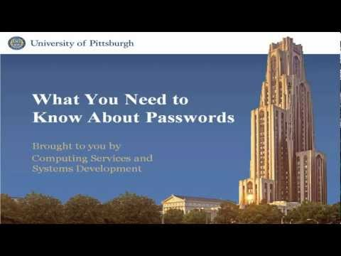 Choose a Strong Password