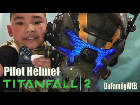 Titanfall 2 Vanguard Edition Pilot Helmet Collector's Edition Unboxing