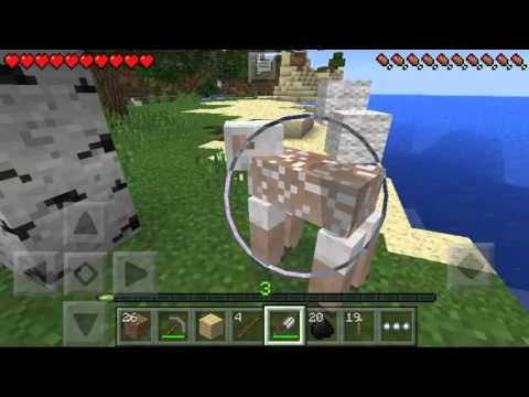 How to make a bed in Minecraft pe survival