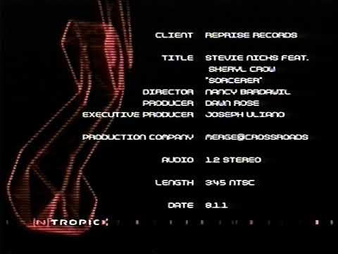 Stevie Nicks feat. Sheryl Crow - Sorcerer (promo credits)