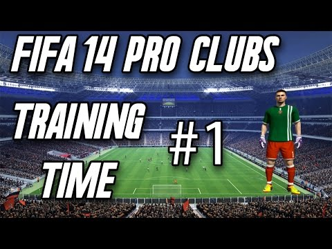 Fifa 14- Pro Clubs #1 -Training time Xbox one