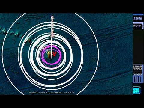 6/12/2018 -- USGS hiding earthquakes in Hawaii?  M4.3 strikes Mauna Loa -- USGS ignores yet again!