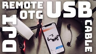 DJI Spark Remote Controller OTG USB Cable ► Fly With a Reliable Connection