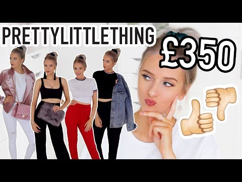 I SPENT £350 ON PRETTY LITTLE THING 💸YAY OR NAY?