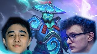 The two new storm spirit styles - Miracle vs Abed