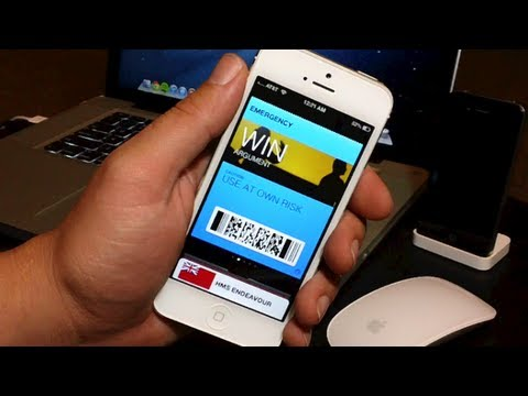 How To Add Funny Fake Passes & Tickets To Passbook On iPhone And iPod - iOS 6 Tricks