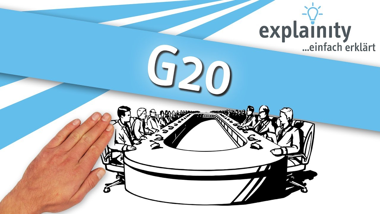 G20 einfach erklärt (explainity® Erklärvideo)