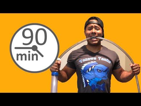 25 Aquarium Water Changes in 90 Minutes!