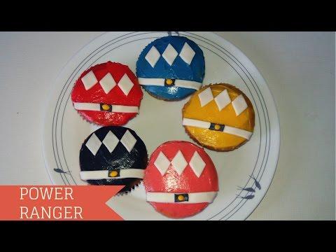 POWER RANGERS CUPCAKE