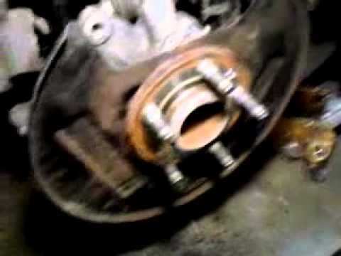 2009 Ford Flex 2wd rear wheel bearing replacement