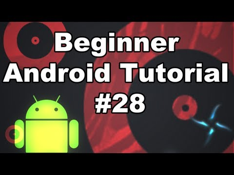 Learn Android Tutorial 1.28- Introduction to the SurfaceView