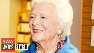 Former First Lady Barbara Bush Dies at 92, Celebrities and Politicians Pay Tribute | THR News