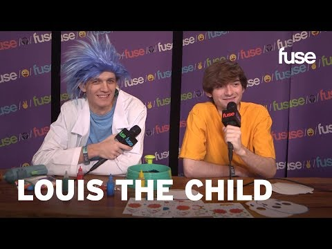 Louis The Child Attempt Spin Art While Explaining Their Name | Voodoo 2017