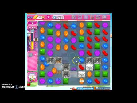 Candy Crush Level 763 help w/audio tips, hints, tricks
