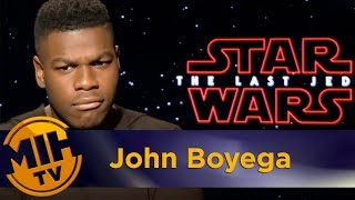 John Boyega Star Wars: The Last Jedi Interview
