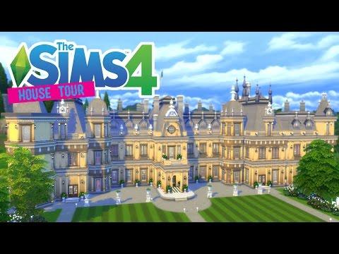 The Sims 4: Waddesdon Manor! - House Tour -