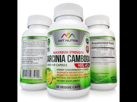 Buy The Best Garcinia Cambogia Extract Premium Pills for Weight Loss - 95 HCA - Garcinia Cambogia!