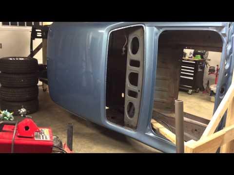 DIY auto body rotisserie
