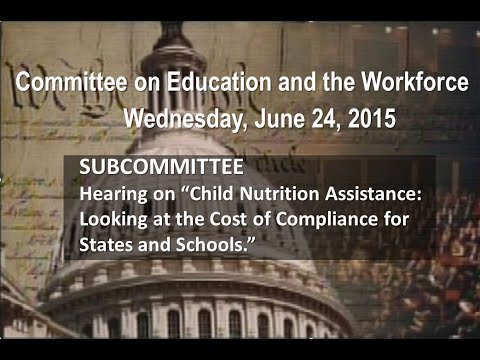 "Hearing on ""Child Nutrition Assistance: Looking at the Cost of Compliance for States and Schools."""
