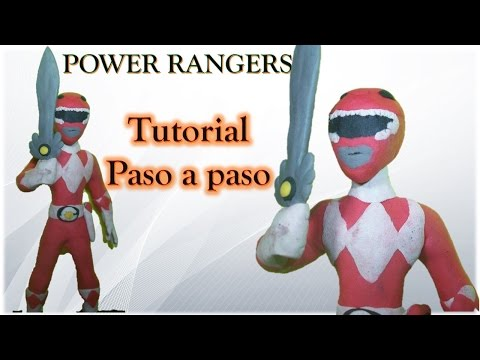 POWER RANGERS ESPECIAL ✅ Como hacer a un Power Rangers de Plastilina Tutorial