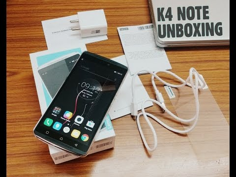 Lenovo K4 Note Unboxing (Retail Copy India)  What's in the Box?