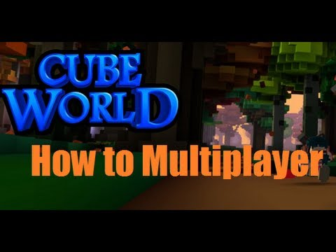 Cube World How to Play Multiplayer