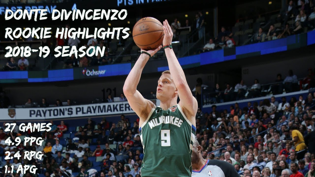 Donte DiVincenzo Rookie Highlights   2018-19 Season [HD]