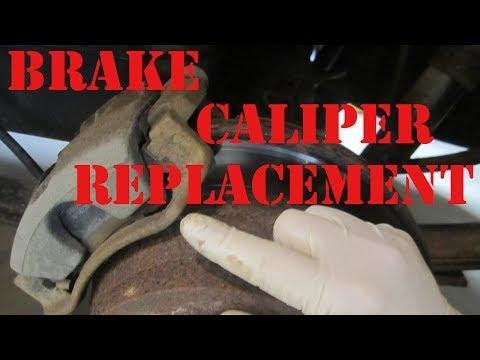 How to Replace 2000 Chevy Blazer Brake Caliper GMC Jimmy Bravada  DIY S10 Brake Caliper Replacement