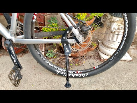 Bell Rear Mounted Adjustable Bike Kickstand Test
