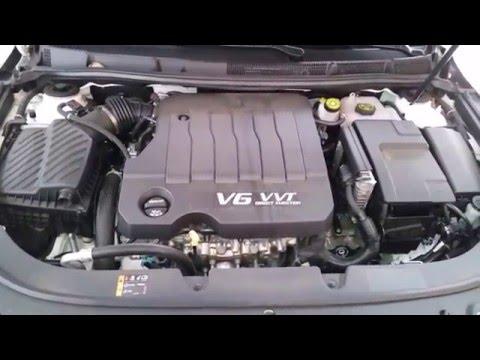 2012-2016 Buick LaCrosse LFX 3.6L V6 Engine - Idling After Oil & Filter Change