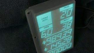 Build an electroluminescent glass panel display -- an Apollo DSKY