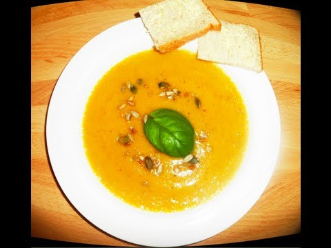 Spiced Pumpkin & Parsnip Soup