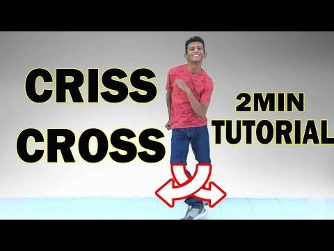 How to do the Criss Cross? like Tiger Shroff | Footwork Tutorial | Nishant Nair