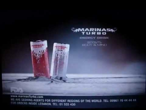 MARINAS TURBO energy drink