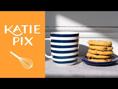 Microwave Chocolate Chip Cookie Recipe in 1 Minute | Katie Pix