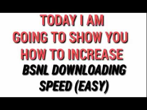 HOW TO INCREASE BSNL INTERNET SPEED || EASY WAY || PROOF