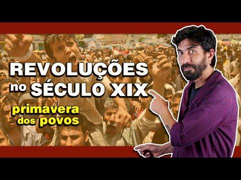 Xxx Mp4 REVOLUÇÕES NO SÉCULO XIX Amp PRIMAVERA DOS POVOS Na Cola Da Prova 3gp Sex