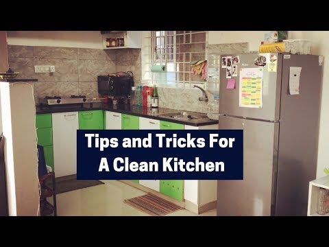 Indian Kitchen Cleaning Tips and Tricks | Realistic Tips to keep the Kitchen Clean | Saloni