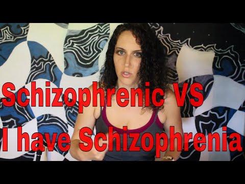 Schizophrenic vs I Have Schizophrenia 🤔