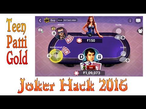 Teen patti Gold Joker Hack 100% working