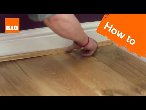 How to lay flooring part 5: finishing touches & maintenance