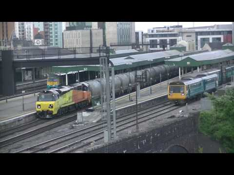 Cardiff Central Station Platforms Time-lapse (06/06/17)