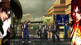 Download Mugen - King of Fighters - Kyo Kusanagi (Glasses) vs. Kyo Kusanagi '95 - 草薙京 vs. 95草薙京 Video