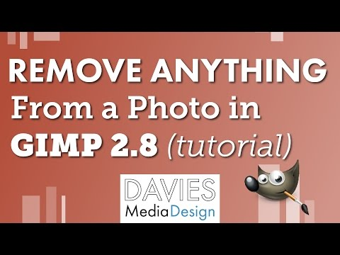 How to Remove Anything from a Photo in GIMP - Tutorial